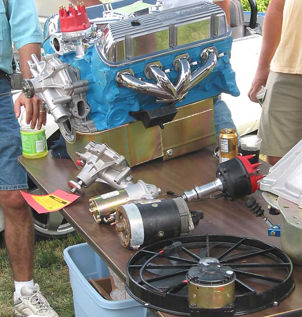 MGB Ford 302 Engine Conversions, tech session by Pete Mantell of