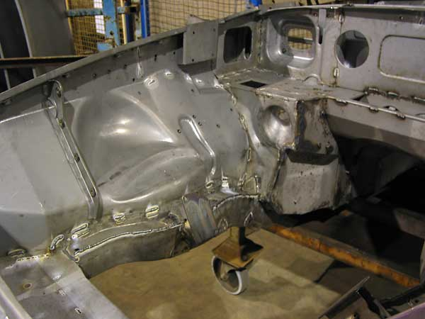 How Much Does It Cost To Paint A Car >> Heritage Competition Bodyshells and Equipment