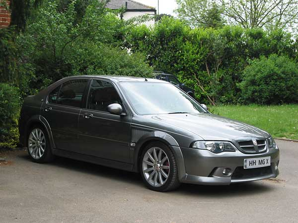 "2004 MG ZS180 in XPower Grey 2004 MG ZS180 in ""XPower Grey""."