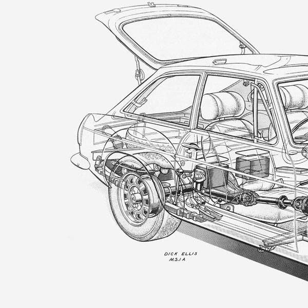 mgb engine cutaway  mgb  free engine image for user manual