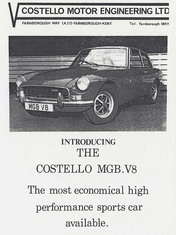 Costello Motor Engineering: