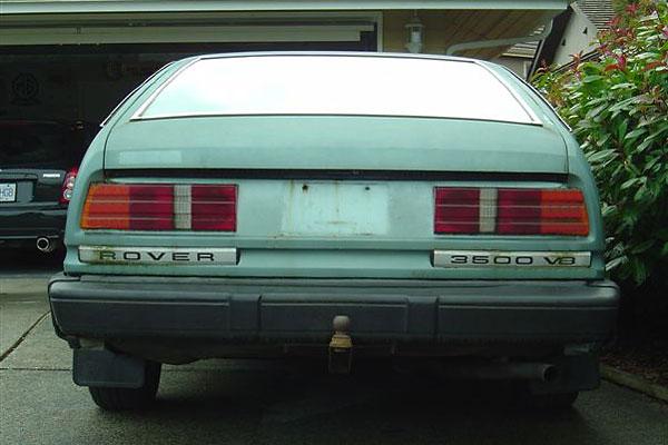 Rover SD1 - 3500 V8 - taillights