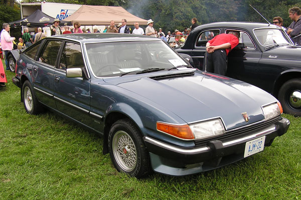 Rover Sd1 Racing. Rover SD1