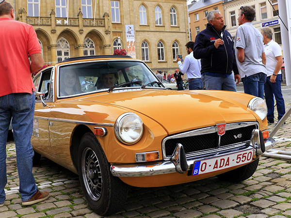 MGB GT V8 prototype number 105 as it appeared at the 2017 Sea Fun Rally.
