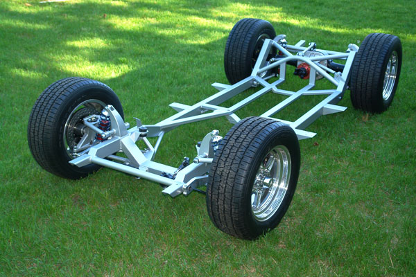 FastCars replacement chassis for Triumph TR6