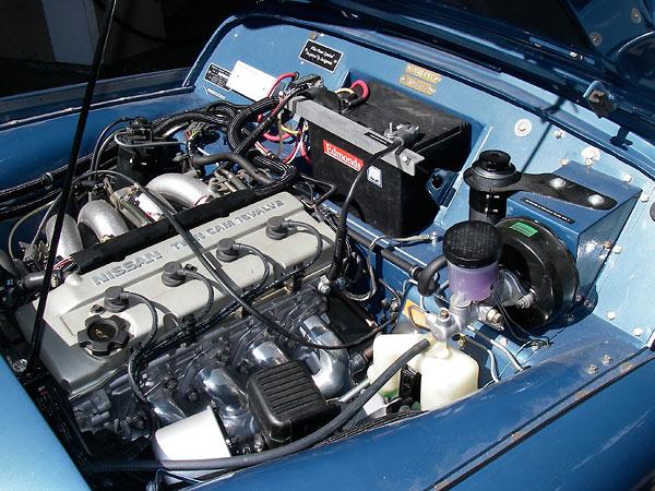 Randy Schultz's Triumph TR3 Plus 4 Project, Part 2