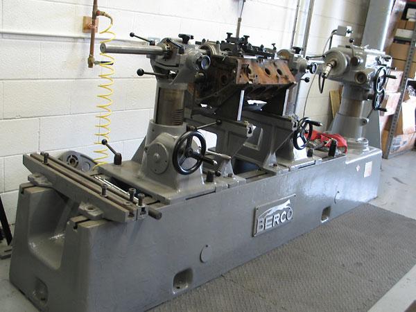 engine line boring machine