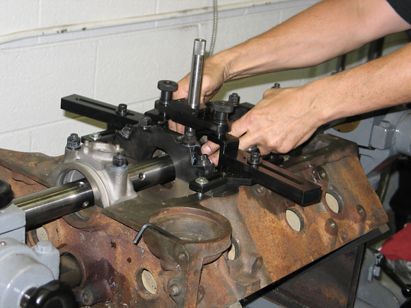 Dale Spooner's Motion Machine automotive machine shop in