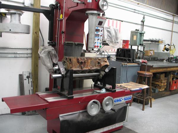Dale Spooner's Motion Machine automotive machine shop in