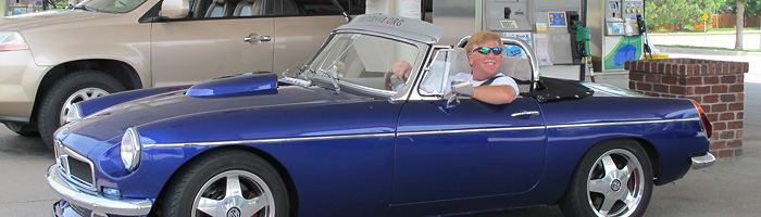 Looking Cool with a Custom BritishV8 Sunvisor