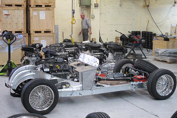 morgan motor company ltd factory tour britishv8