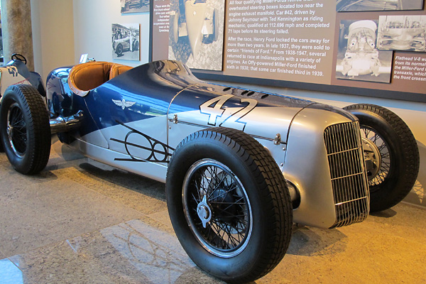 Not mg but you 39 ll like this speedway motors museum for Speedway motors museum lincoln ne
