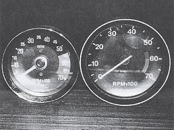 Converting the MGB Tachometer to V-8 Calibration, by Kurt Schley