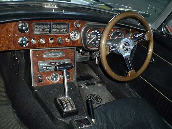 Barrie Egerton S 1971 Mgb Roadster With A Rover 3 5l V8 Engine