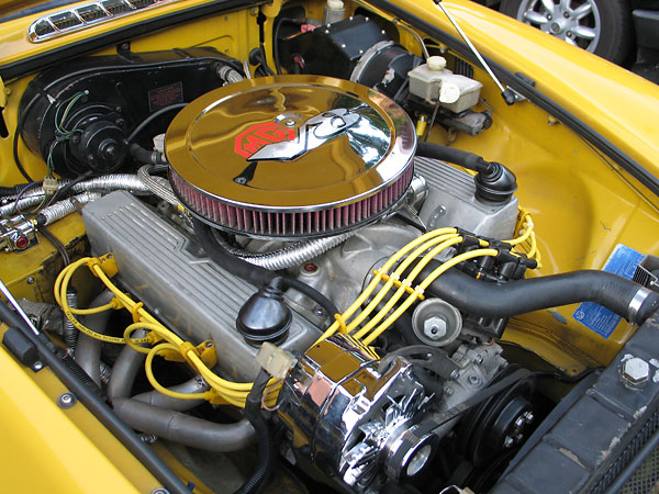 Bernie Posey S 1979 Mgb With 3 9l Rover V8