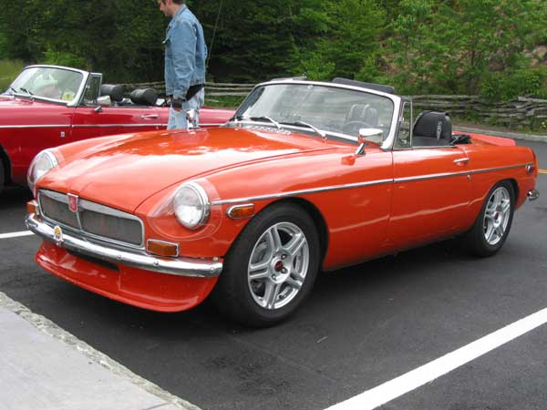 MGB V6 Kits from Classic Conversions