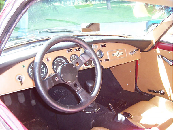 Bill Spohn S 1957 Mga With Fiberfab Jamaican Kit Car Body