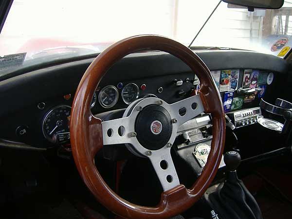 steering Mg issues midget