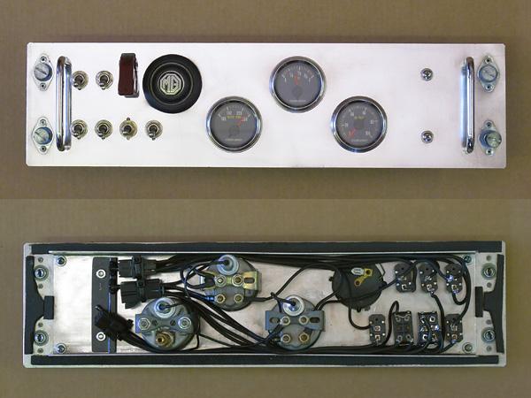 Sand Rail Speedometer : Britishv forum post your gauges switches dash designs