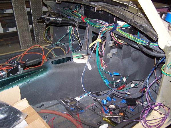 ford 302 mini starter wiring diagram dan masters  1974 mgb gt with    ford       302    v8  dan masters  1974 mgb gt with    ford       302    v8