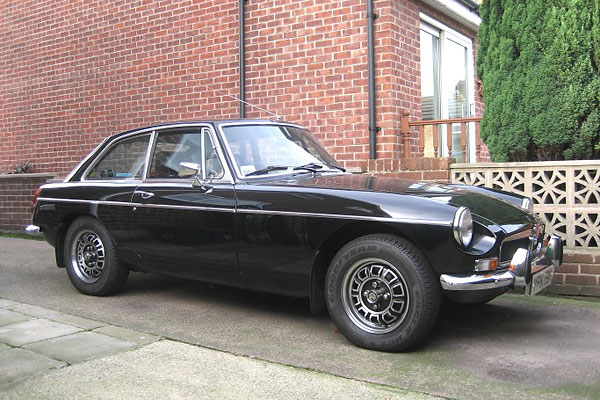 Only about three percent of MGB GT V8's were black.