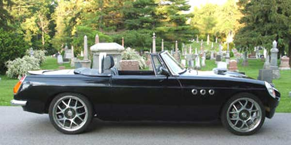 Dennis Mcintyre S 1971 Mgb With Ford 302 V8 Conversion