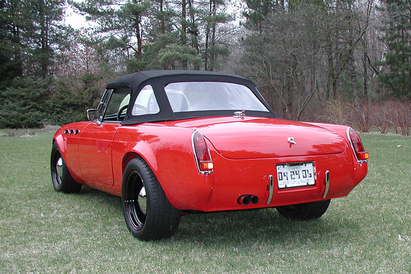 Think, mg midget modification for