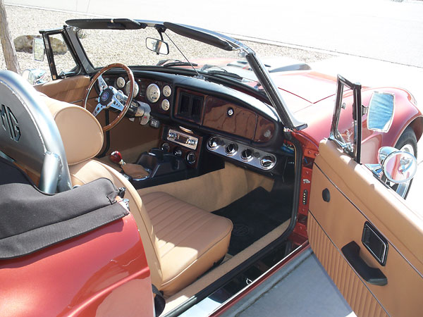 Earl Dickeson S 1977 Mgb With Ford 302 V8 Engine
