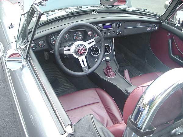 Evan Amaya S Rover Powered 1964 Mgb V8
