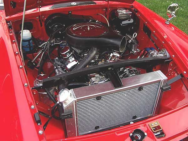 Gary Walker S 1964 Mgb With Gm 3 4l 60 Degree V6 Crate Engine