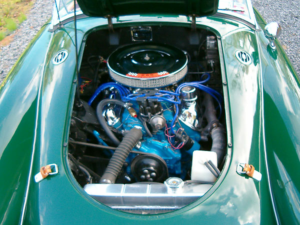 Harry Miller's 1961 MGA with Ford 289 V8 Engine on