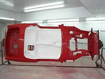 Joe Hutcherson's 1976 MGB with Chevy 4 3 EFI V6