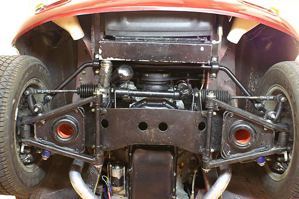 Polyurethane Suspension Bushings >> Jim Lewenauer's Rover aluminum V8 powered 1974.5 MGB-GT