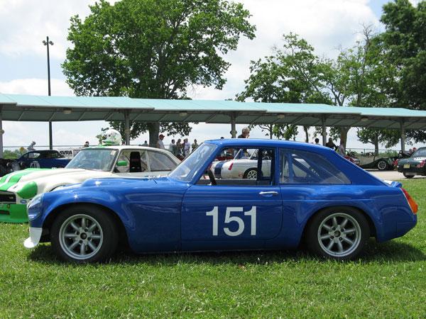 Britishv8 Forum Mgb Gt V8 Race Car