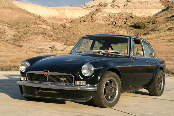 Keith Tanner's 1972 MGB GT with Chevrolet LS1 5 7L V8 Engine
