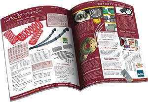 Moss British Car Parts Catalogs