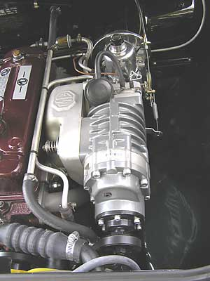 Moss MGB Supercharger System