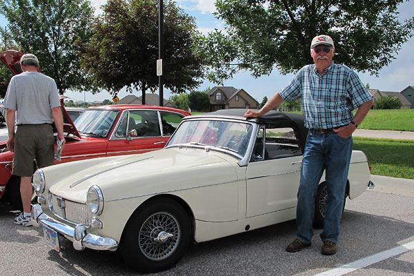 Mg midget steering issues