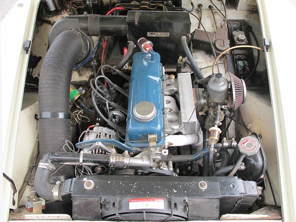 Nissan Of Omaha >> How It Was Done: Kurt Appley's '65 MG Midget with Nissan ...