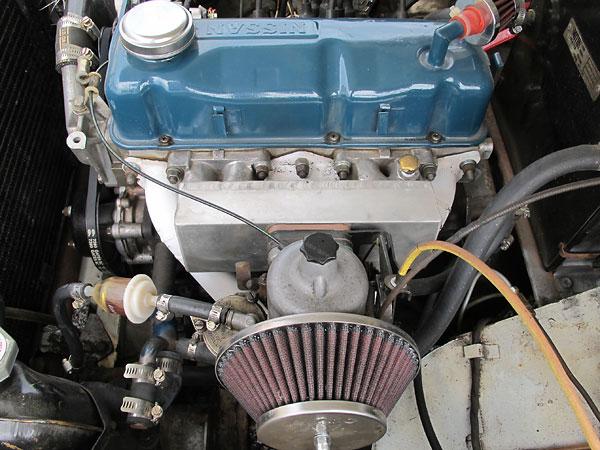Kurt Appley's 1965 MG Midget with Nissan A15 Four Cylinder