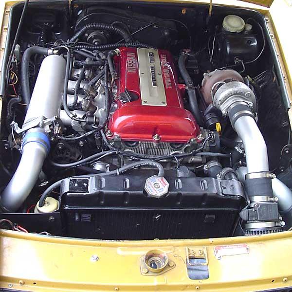 Sr20det Turbo: Kyle Bingham's 1970 MGB-GT With Nissan SR20DET Engine