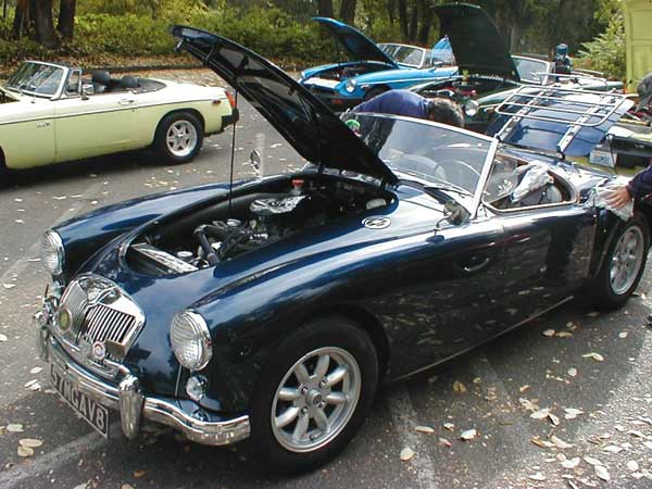 Lyle Jacobson S 1957 Mga With A Buick 215cid V8