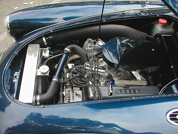 Car Cooling System >> Lyle Jacobson's 1957 MGA with a Buick 215cid V8