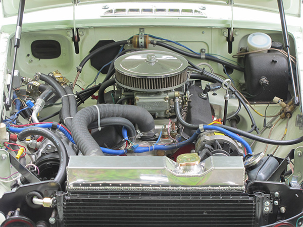 Mickey Richaud 39 S 1969 Mgb Gt With General Motors 3 4l V6