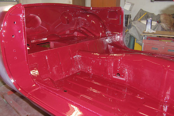 Mike Alexander s 1971 MGB rebuilt on 1980 bodyshell with