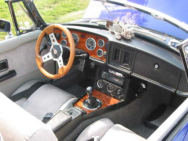 Steering Wheel Cleaner >> Mikel Moor's 1978 MGB with 1964 Buick 300 V8