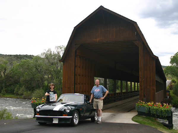 Covered bridge for Moss motors used cars airport