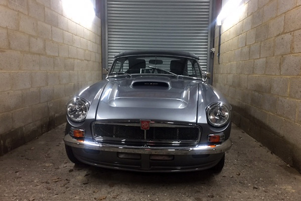 Nigel Cooper's 1967 MGB with Small Block Ford V8