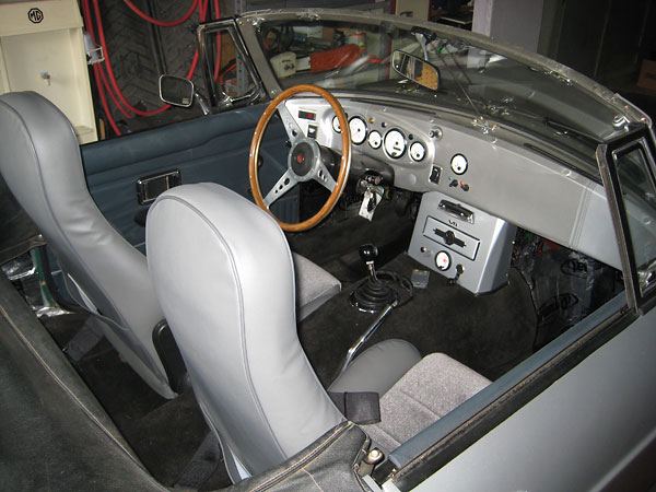 Paul Schils 1971 Mgb With Ford 302 V8 Engine