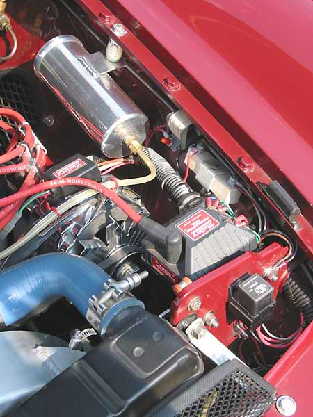 Paul Schils 1973 Mgb Gt With Buick 215 V8 Engine